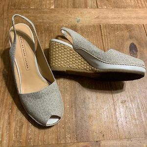 Marc by Marc Jacobs / Espadrille Slingback Wedges